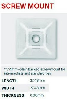 1' SCREW-MOUNT